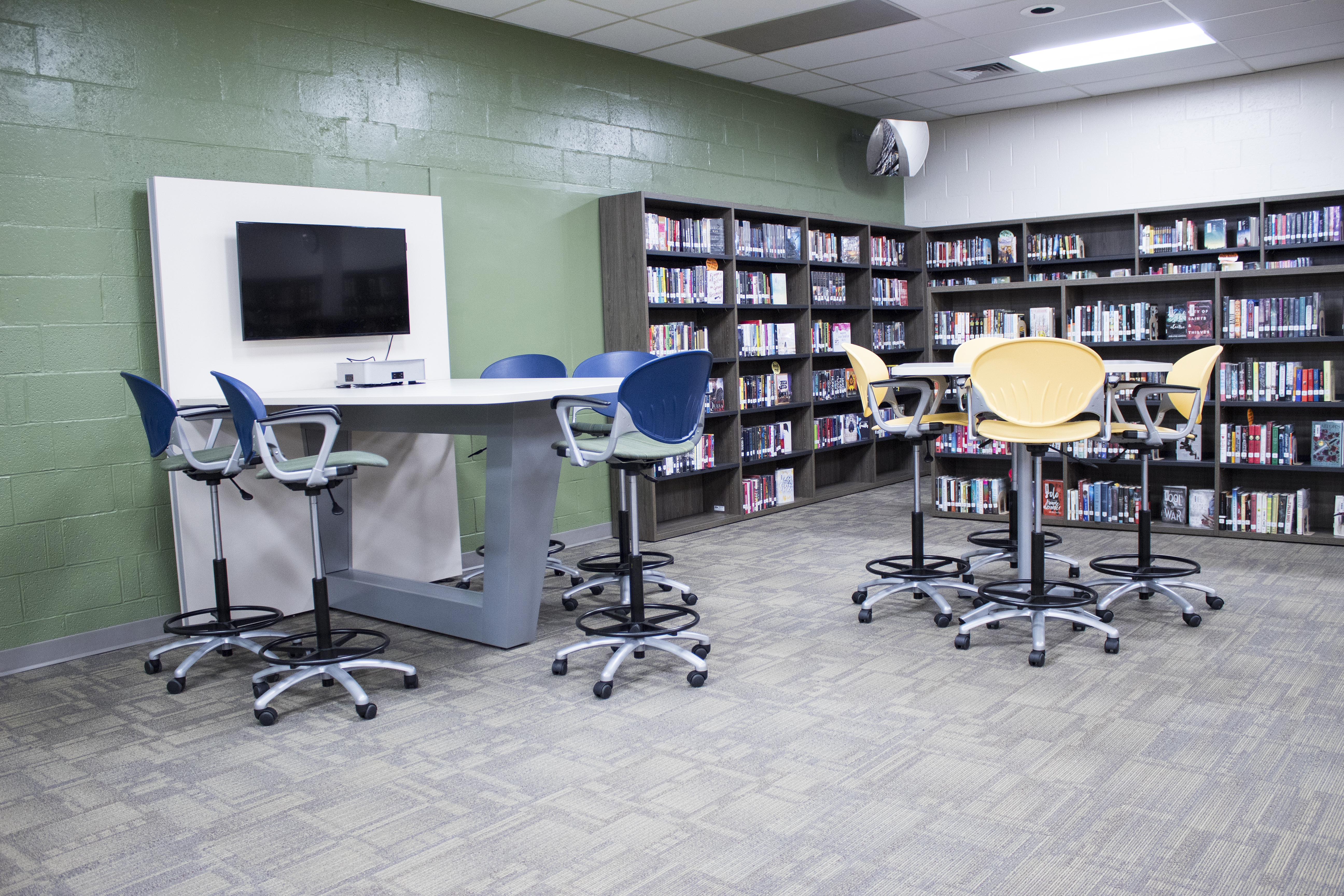 dauphin county technical school library media table