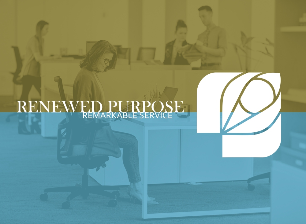 renewed purpose remarkable service graphic