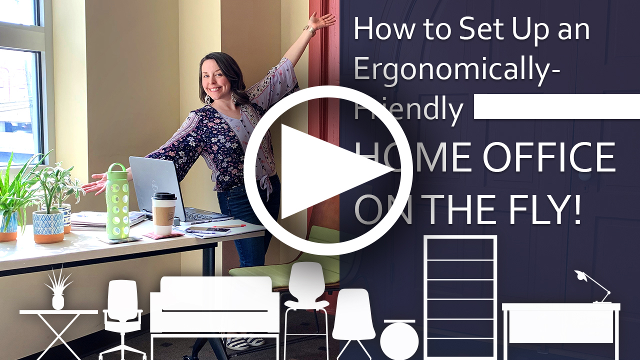 link to youtube video on home office ergonomics